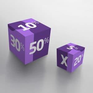 Cubos didácticos Bolbrac Digital Printing