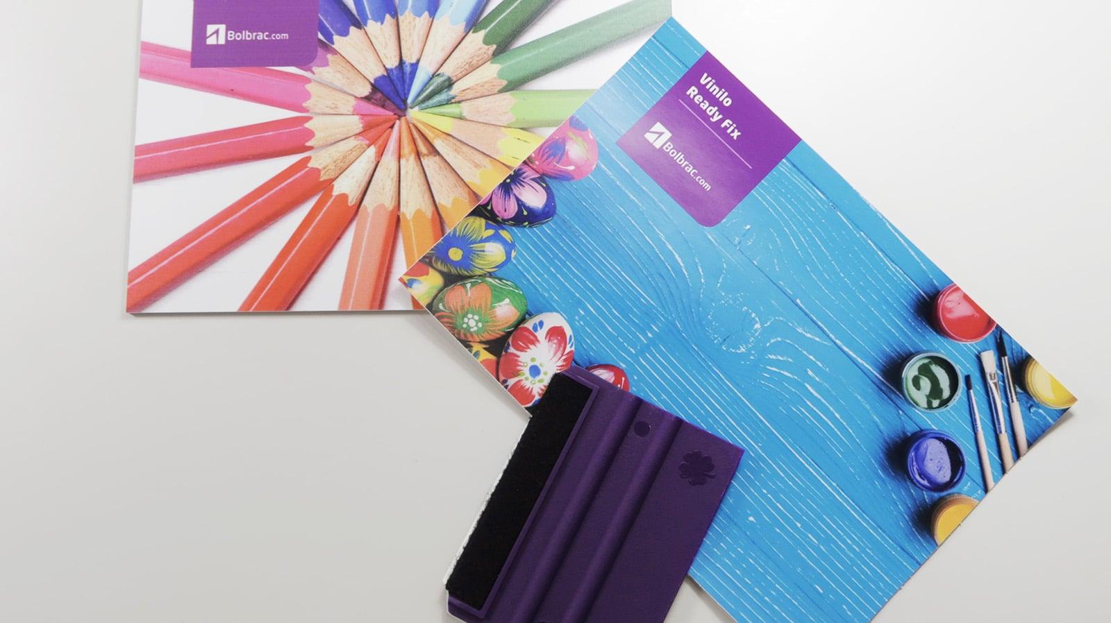 Instalación vinilo antiburbujas Bolbrac Digital Printing
