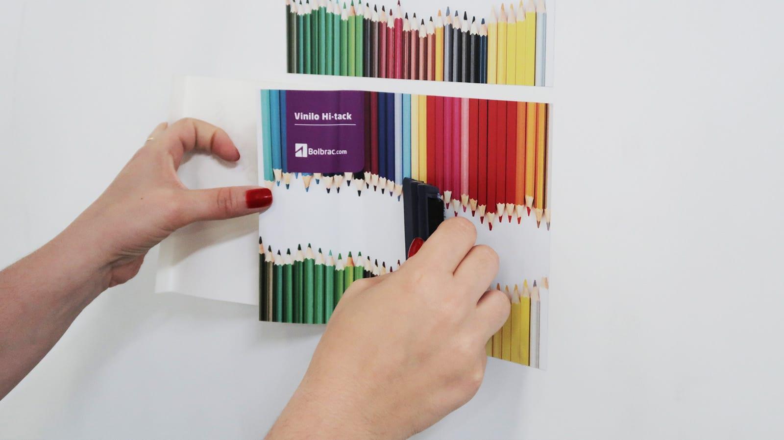 Hi-Tack sobre pladur Bolbrac Digital Printing