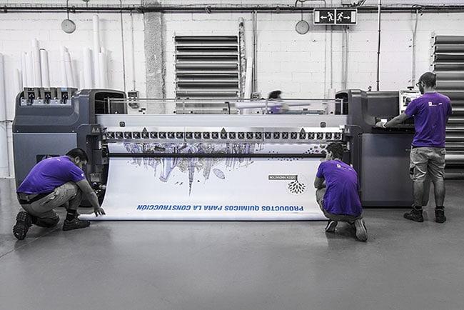 HP Latex 820 Bolbrac Digital Printing