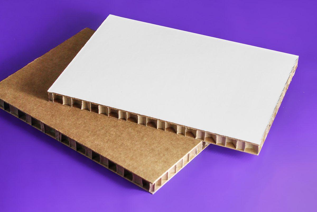 Cartón nido de abeja Bolbrac digital printing