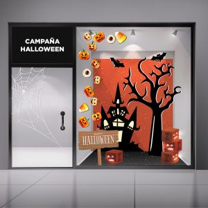 Escaparate Halloween Bolbrac Digital Printing