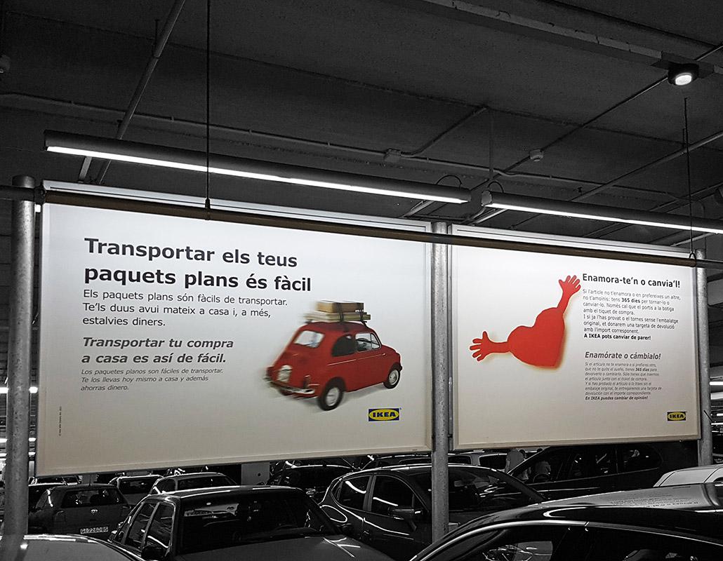 Billboard Ikea