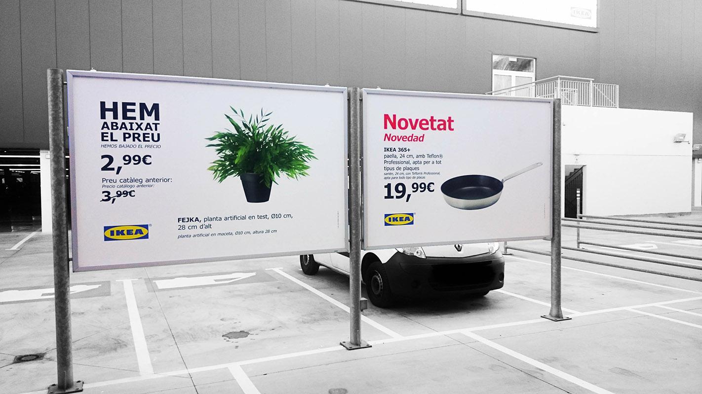 Billboard PP Ikea