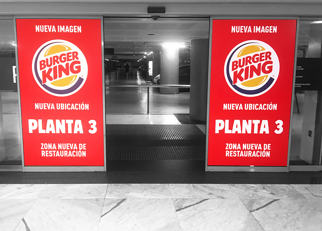 Vinilo Doble Cara Burger King