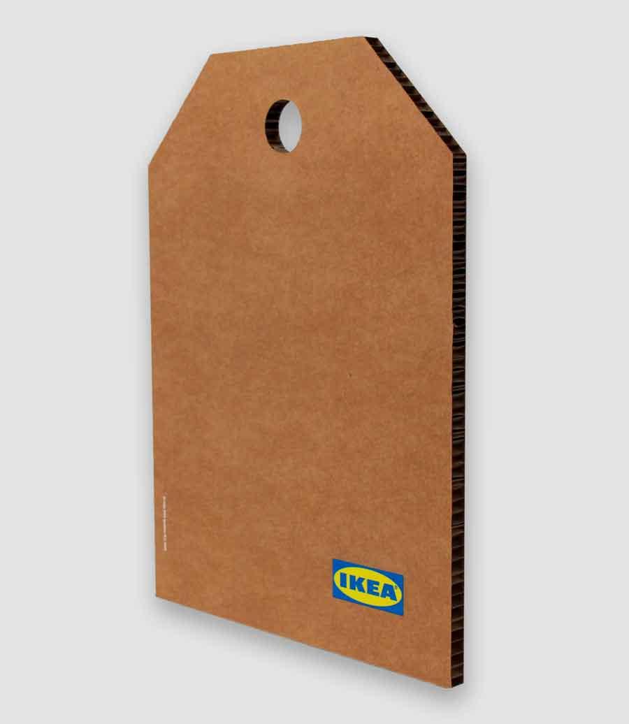 IKEA Cartón Troquelado